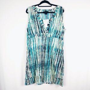Calvin Klein V-neck Comfortable Dress Size XL NWT
